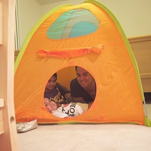 We caved and finally bought them a Circo Play Dome…