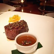 I just had to...just ONE food photo! The filet mignon…