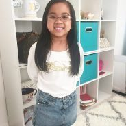 Hi guys!!! Juliana wanted to show you her new glasses.…
