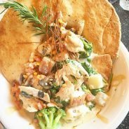 This is #ChickenPotPie at @HashHouseAGoGo! Crazy, right?! It was delish…