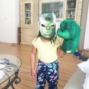 The cutest #Hulk I've ever seen, if you ask me!…