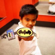 Im Batman! Haha! School uniforms can have style too! Tryhellip