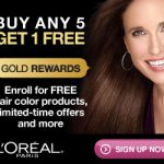 L'oreal NEW Rewards Program! Buy 5 L'oreal Products and get the 6th FREE!