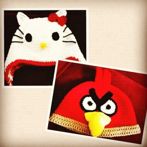 Knitting Games Hello Kitty : Angry birds vs hello kitty knit hat flash giveaway