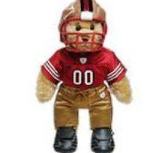 San Francisco 49ers Super Bowl Build A Bear