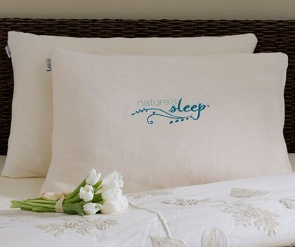 Natures Sleep Faux Down Pillow