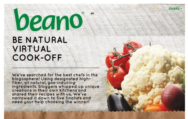 Update Voting Ends Soon Beano Be Natural Virtual Cook Off Contest