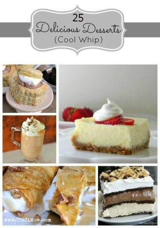 Whipped Cream Cool Whip Dessert Recipes