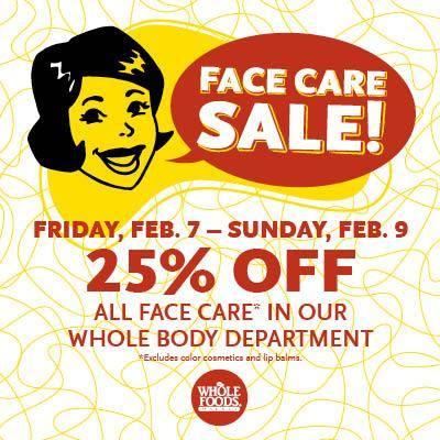 WFM-Facial-Care-Sale