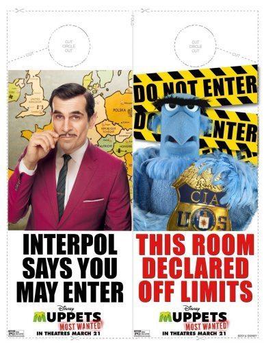 Muppets Activity Sheet 10