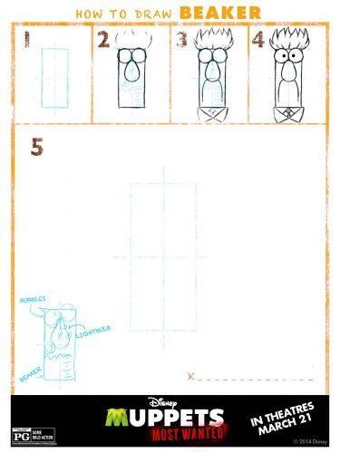 Muppets Activity Sheet 11