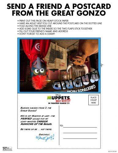 Muppets Activity Sheet 2