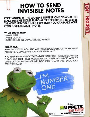 Muppets Activity Sheet 5