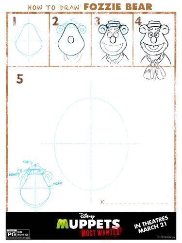 Muppets Activity Sheet 6