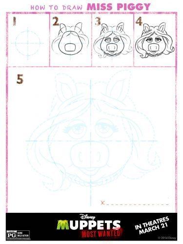 Muppets Activity Sheet 7