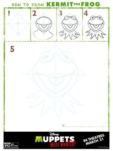 Muppets Activity Sheet 8