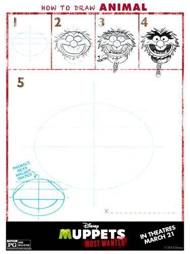 Muppets Activity Sheet 9