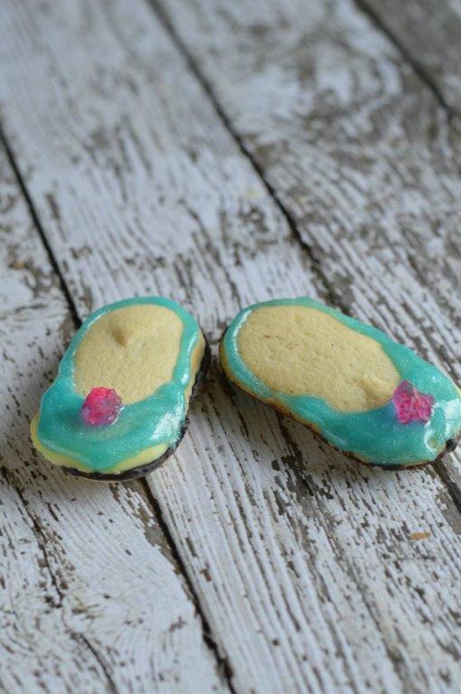 Cinderella Slippers Cookie Recipe