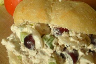 Chicken Salad Recipe - Chicken Sandwiches - TheItMom.com
