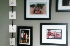 Wall Decor - DIY Family Banner