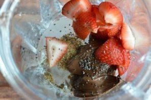 nutella smoothie 1