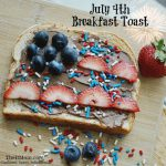 July 4th Breakfast Toast Recipe