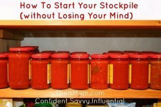 How To Start Your Stockpile (Without Losing Your Mind) - Simple tips to help you build a stockpile that your family can rely on without stress and confusion