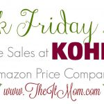 Kohls Black Friday Deals vs Amazon Price Comparison