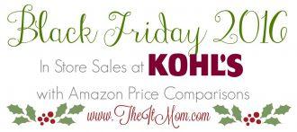 kohls black friday deals vs amazon price comparison
