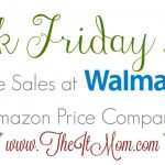 Walmart Black Friday Deals vs Amazon Price Comparison