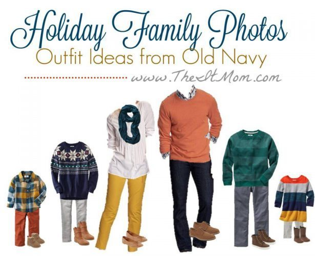 11.22 Family Photo Outfit Board - Old Navy THEITMOM