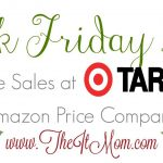 Target Black Friday Deals vs Amazon Price Comparison