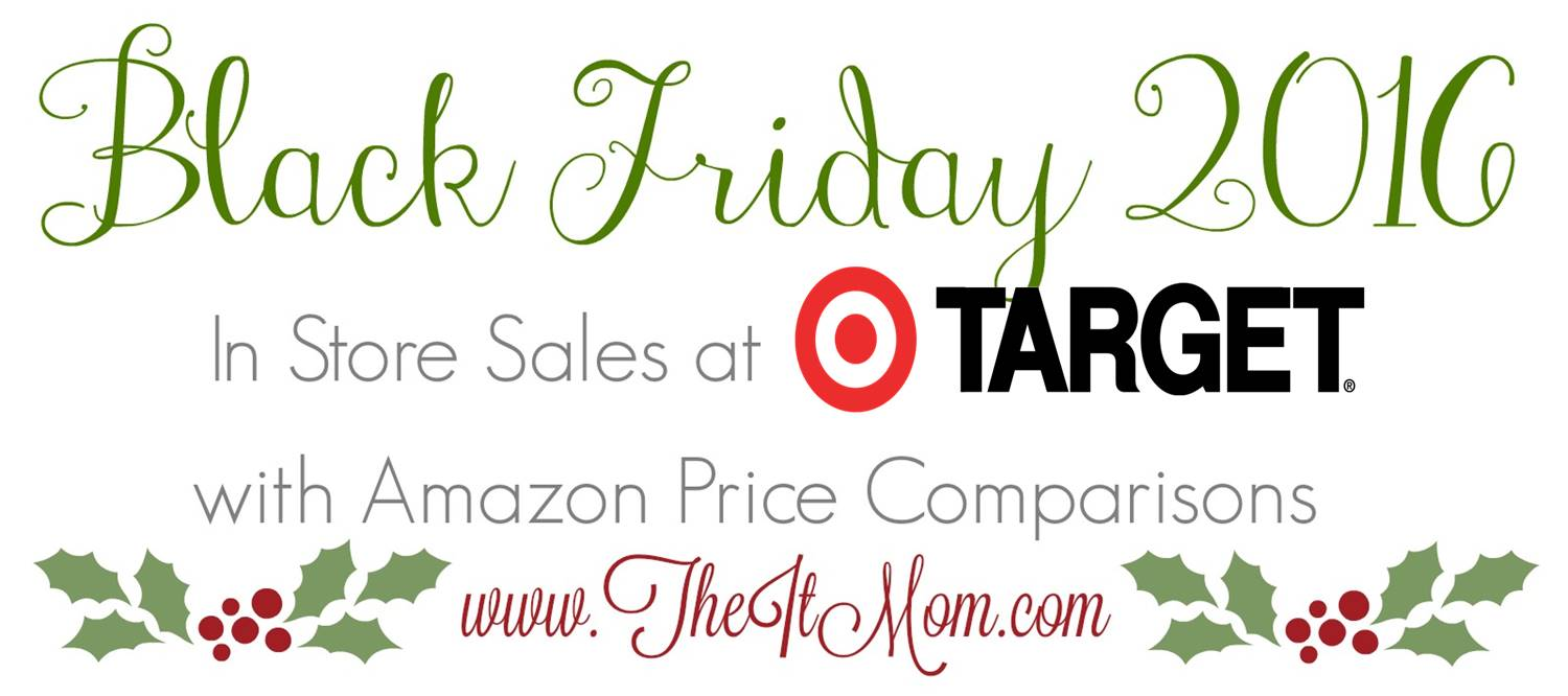 target black friday deals amazon comparison