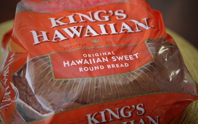 Kings Hawaiian Round Bread