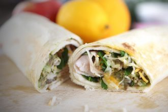 Turkey Avocado Burrito