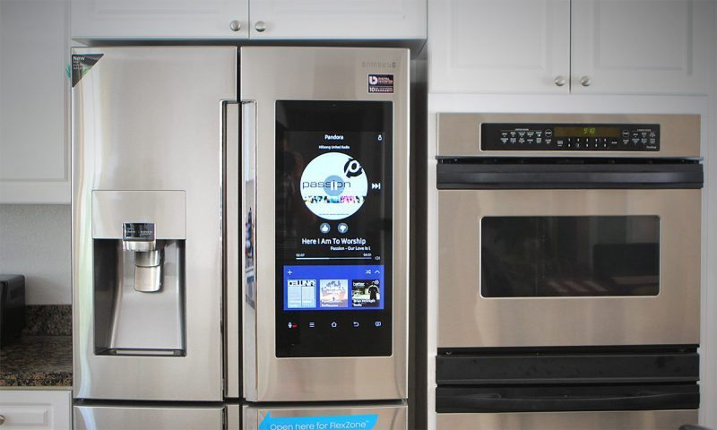 Samsung Fridge Pandora