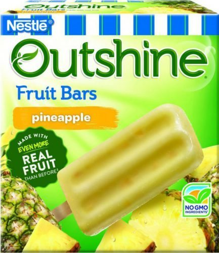 Pineapple Outshine Fruits Bars
