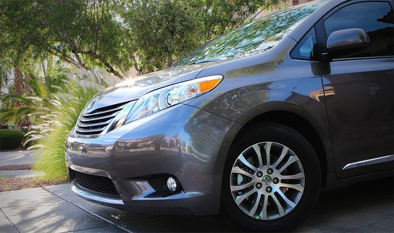 Toyota Sienna Front Side