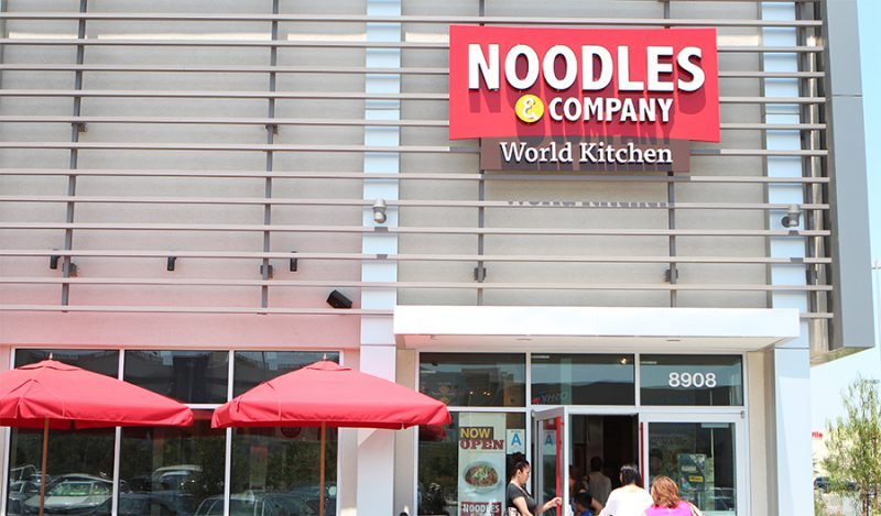 Noodle Company Restaurant