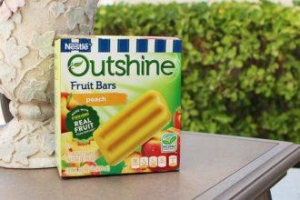 Outshine Peach Fruit Bars