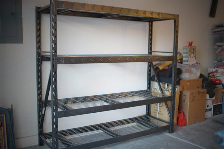 gladiator before shelf - Gladiator Shelving
