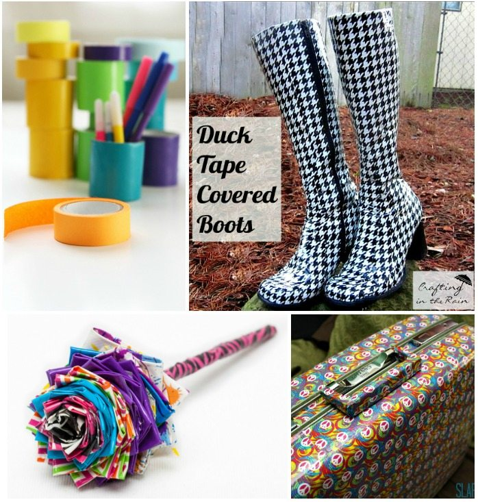 Duct Tape Crafts DIY