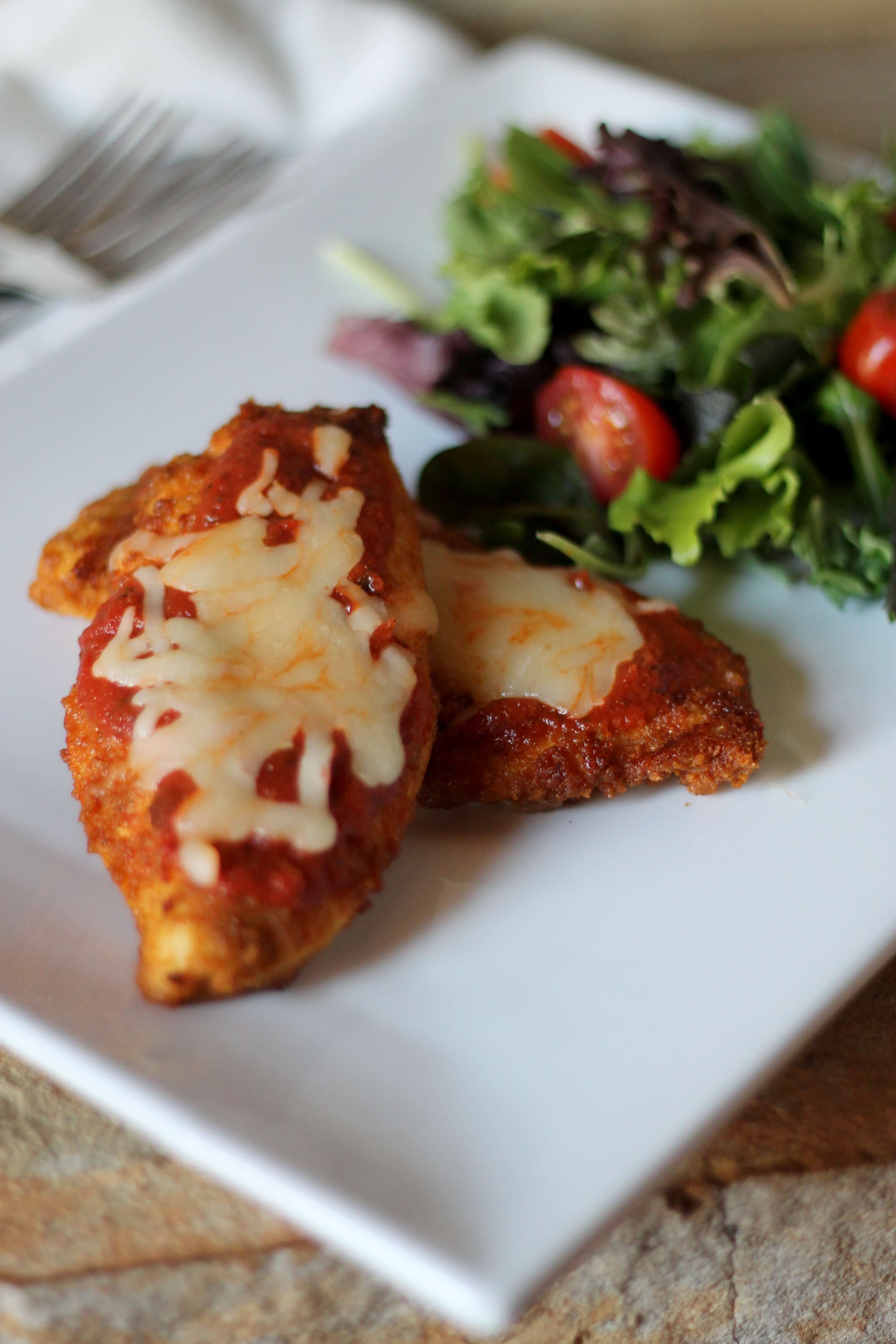 Skinny Chicken Parmesan Low Carb Recipe