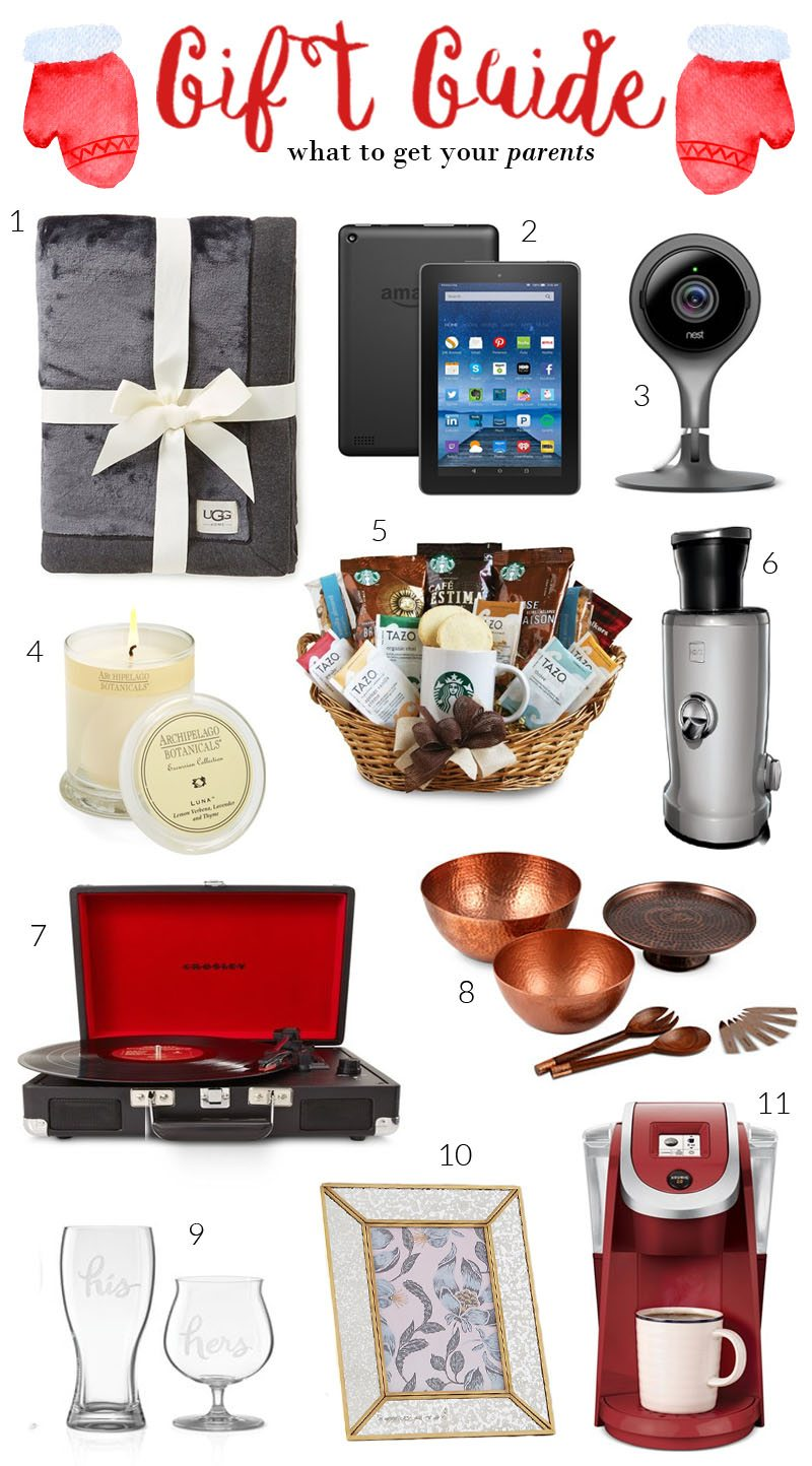 20 Gift Ideas for Parents Moms Dads Holidays