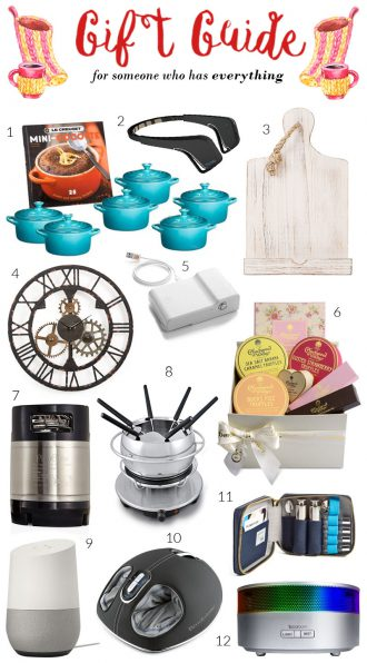20 Gift Ideas for People Impossible to Buy For