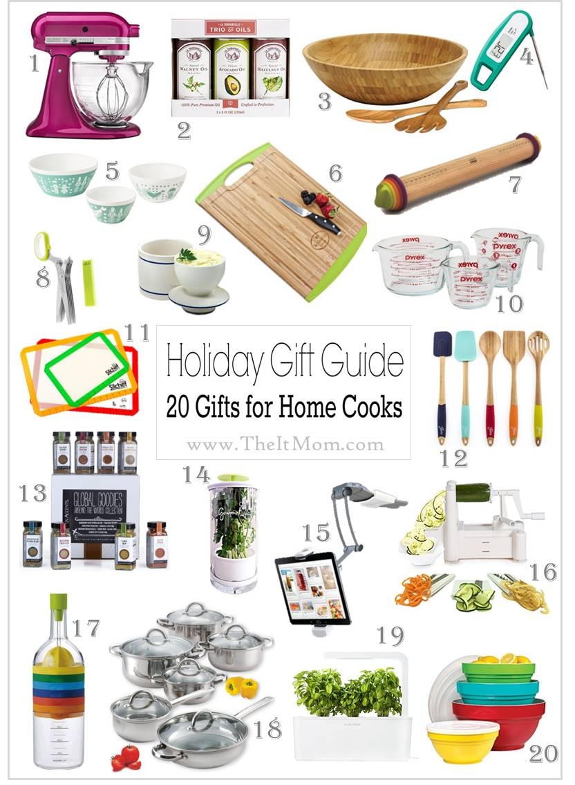 holiday gift guide gifts for home cook chefs foodies