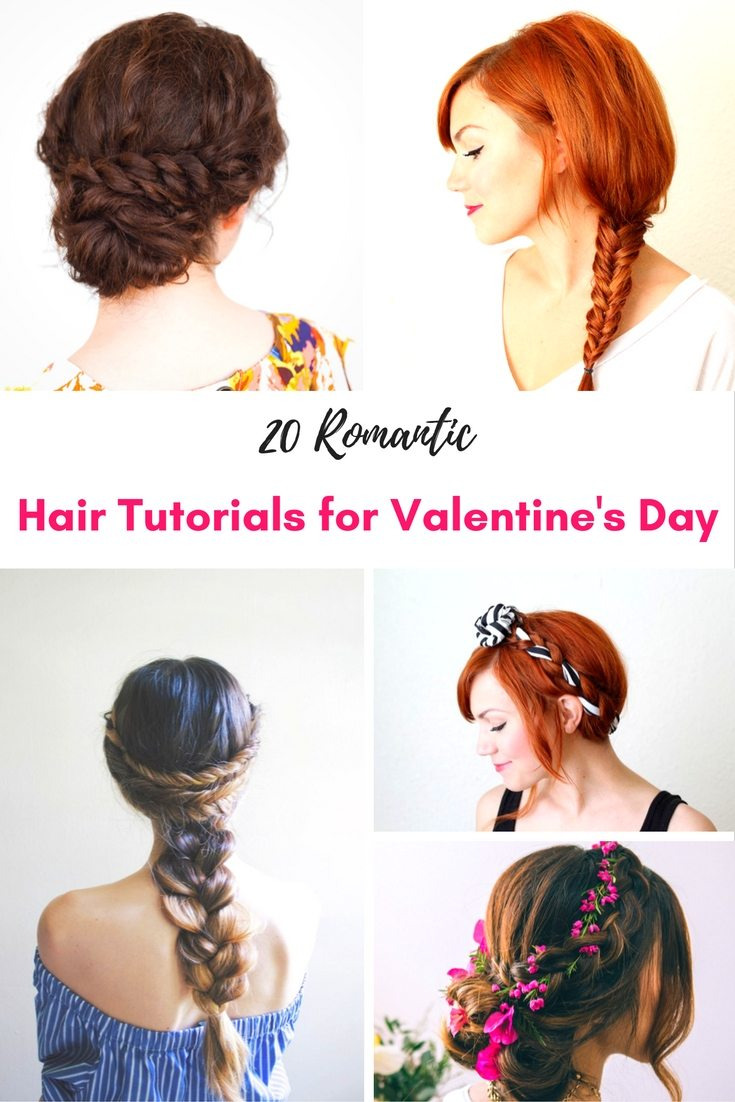 Valentines Day Hair Tutorials