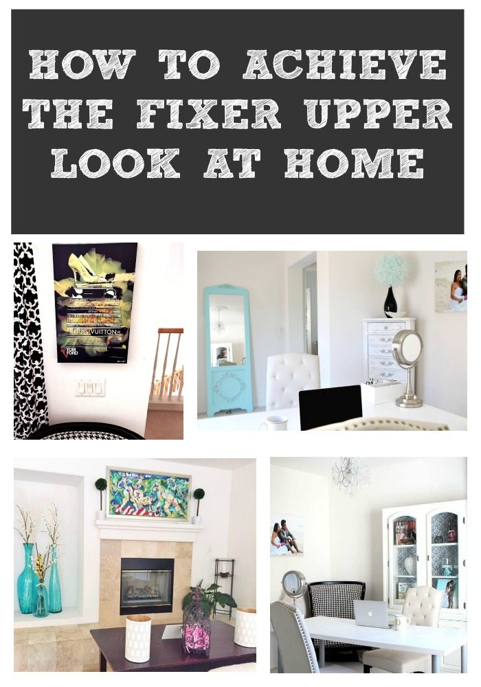 How to achieve the fixer upper look at home the it mom for The look at home