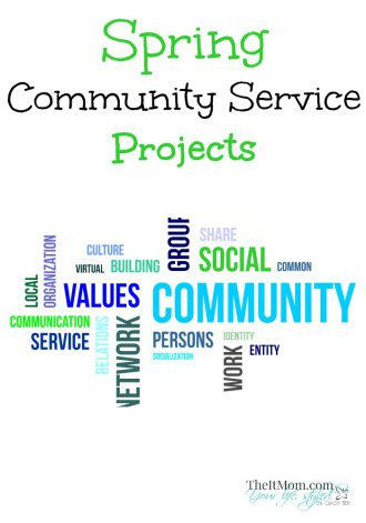 Spring Community Service Projects