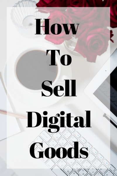 How to sell digital goods online